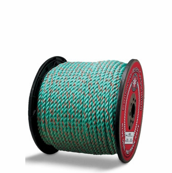 """Continental Western 1/2"""" x 600' Blue Steel Truck Rope Rope 405415"""