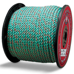 Continental Western 1/2 x 600' Blue Steel Truck Rope Rope 405415