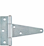 """National  Extra Heavy T Hinges 4"""" (2) 129031 (Pack of 5)"""