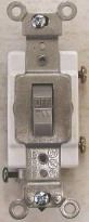 Leviton Prograde 20 Amp 3-Way Gray Toggle Switch CS320-2GY
