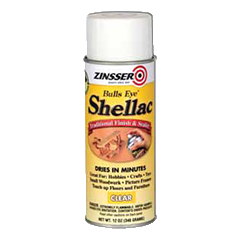 Zinsser Bulls Eye Clear Shellac Sealer & Finish 13oz 00408