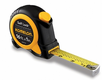 Komelon Self Lock Speed Mark 16-Foot Power Tape SL29116