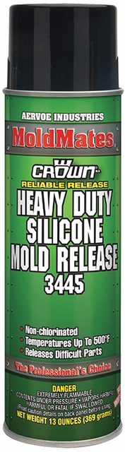 Aervoe 12 Oz. Heavy Duty Silicone Mold Release (Case of 12) 2012