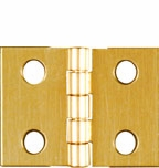 """National Broad Hinges 3/4"""" x 1"""" (4) 211326 (Pack of 5)"""