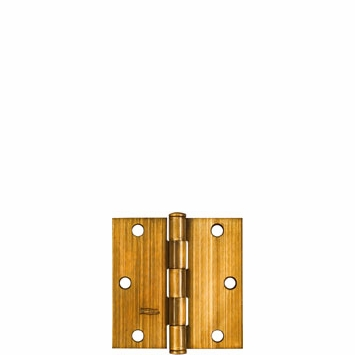 "National Door Hinges Square Full Mortise 3-1/2"" (2) 176636 (Pack of 5)"