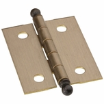 "National Ball Tip Hinges 1-1/2"" x 1-1/4"" (2) 213538 (Pack of 5)"