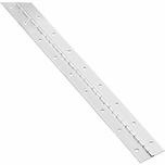 """National Continuous Hinge  1-1/2"""" x 30"""" 266940 (Pack of 2)"""