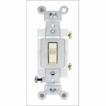 Leviton Prograde Single Pole 20 Amp White Toggle Switch CS120-2WS