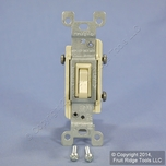 Leviton 3Way Co/Alum Switch Ivory 2653-I