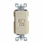 Leviton GFI Feed Thru Switch 8590-I