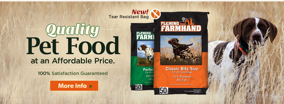 Fleming Farmhand Dog Food