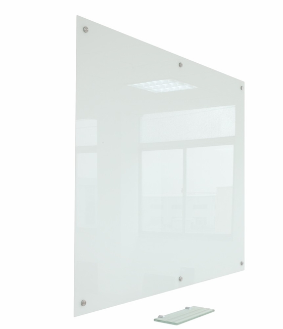 """Pegasus Magnetic Glass Whiteboard 96"""" x 48"""" 