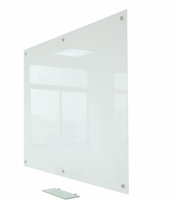 """Pegasus Magnetic Glass Whiteboard surface 60"""" x 48"""" 
