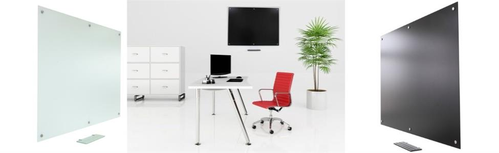 Projectionable-Magnetic Anti-Glare Glass Whiteboards