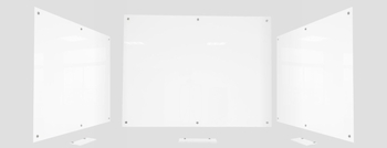Low Iron Magnetic Glass Whiteboards | Pure-White Glass Whiteboards