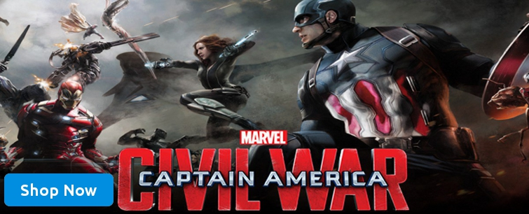 Captain America Civil war Blu-ray Movie