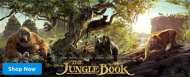The Jungle Book Blu-ray Movie