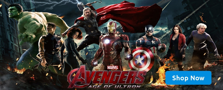 Avengers: Age of Ultron Blu-ray Movie
