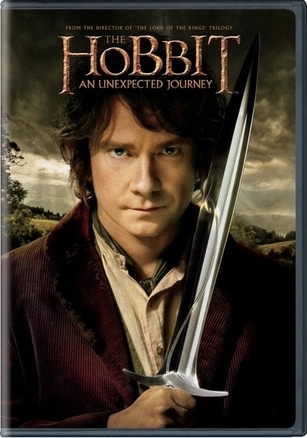The Hobbit  An Unexpected Journey Single Disc DVD Movie