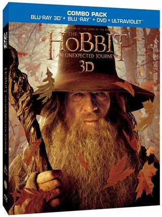 The Hobbit  An Unexpected Journey Blu-ray 3D + Blu-ray + DVD + UltraViolet Digital