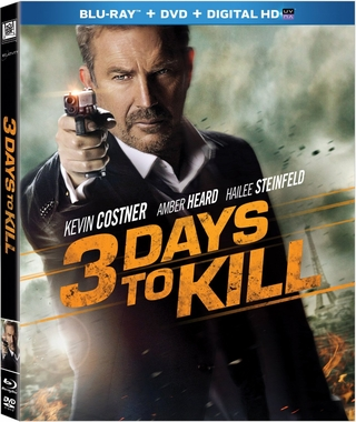 3 Days to Kill (Blu-ray + DVD + DIGITAL HD with UltraViolet)