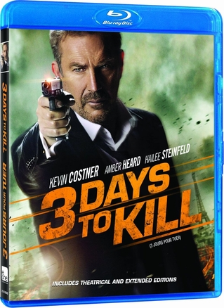 3 Days to Kill Blu-ray Movie Used
