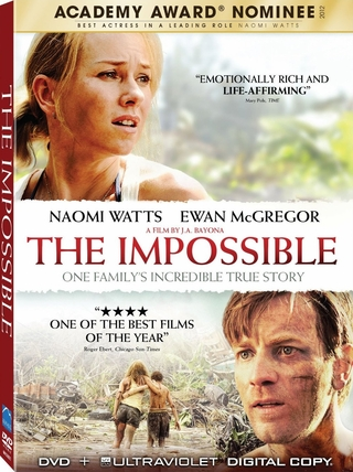 The Impossible DVD Movie