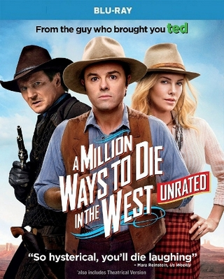 A Million Ways to Die in the West Blu-ray Single Disc