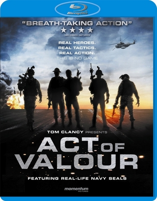 Act Of Valor Blu-ray (USED)