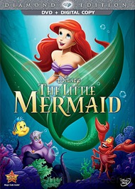 The Little Mermaid Diamond Edition (DVD + Digital Copy)