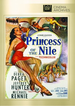 Princess of The Nile DVD Movie (1954)