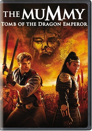 The Mummy Tomb of The Dragon Emperor DVD