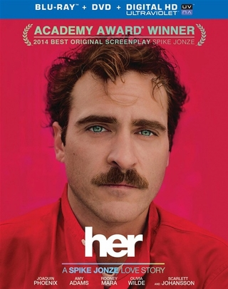 Her (Blu-ray + DVD + Digital Copy + UltraViolet)