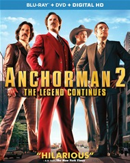 Anchorman 2: The Legend Continues (Blu-ray + DVD + UltraViolet)