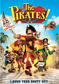 The Pirates Band Of Misfits DVD Movie