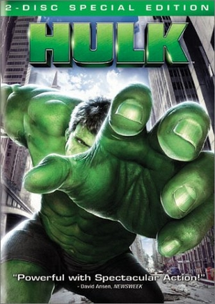 Hulk 2 Disc Special Edtion DVD Movie