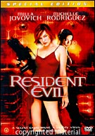 Resident Evil DVD Movie