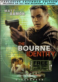 Bourne Identity Explosive Extended Edition Full Frame (USED)