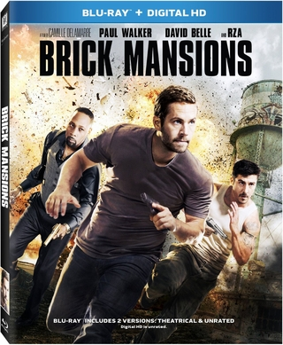 Brick Mansions Blu-ray (USED)