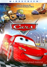 Cars DVD Movie