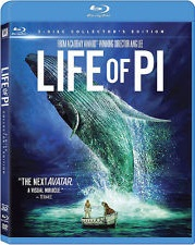 Life Of Pi 3D Blu-ray (ONLY)