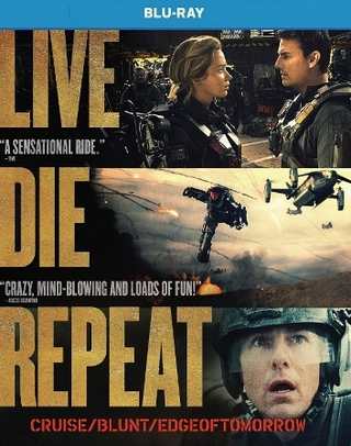 Live Die Repeat: Edge Of Tomorrow Blu-ray Single Disc