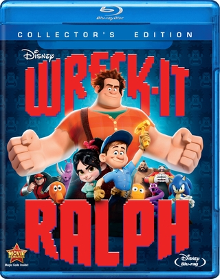 Wreck It Ralph Blu-ray Movie  (USED)