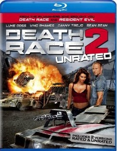 Death Race 2 unrated Blu-ray