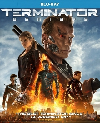 Terminator Genisys Blu-ray Single Disc