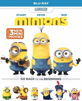 Minions Blu-ray Single Disc