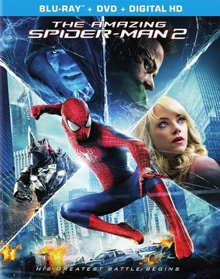 The Amazing Spider-Man 2 (Blu-ray + DVD + UltraViolet)
