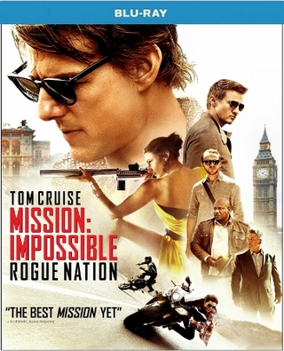 Mission Impossible Rogue Nation Blu-ray Single Disc