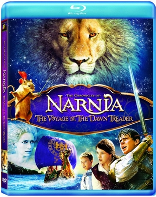 The Chronicles of Narnia Voyage of The Dawn Treader Blu-ray Rental