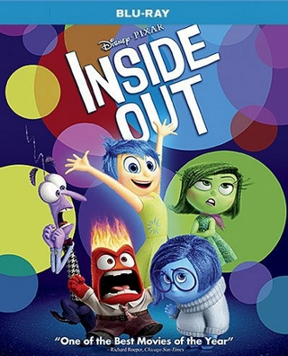 Inside Out Blu-ray Single Disc